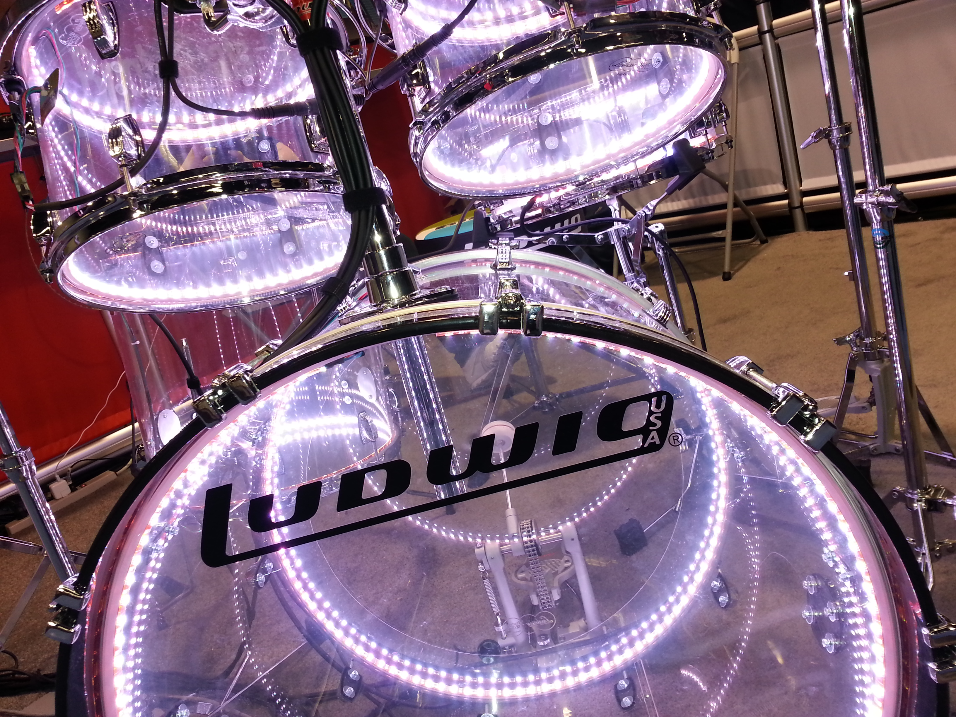BrightBeats systems are high quality LED lighting systems that can be triggered in real time & BrightBeats u2013 Triggered LED Drum Lighting azcodes.com