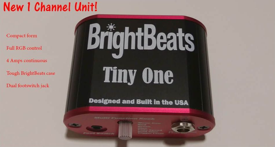 BrightBeats – Triggered LED Drum Lighting